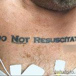фото Медицинские тату от 22.04.2018 №088 - Medical Tattoo - tatufoto.com