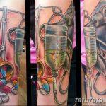 фото Медицинские тату от 22.04.2018 №089 - Medical Tattoo - tatufoto.com