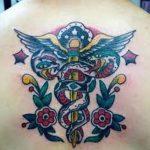 фото Медицинские тату от 22.04.2018 №099 - Medical Tattoo - tatufoto.com