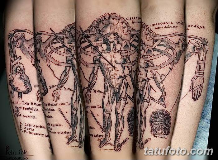 фото Медицинские тату от 22.04.2018 №104 - Medical Tattoo - tatufoto.com