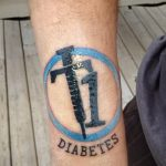 фото Медицинские тату от 22.04.2018 №106 - Medical Tattoo - tatufoto.com