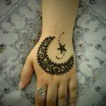 фото Мехенди луна от 17.04.2018 №064 - Mehendi the moon - tatufoto.com