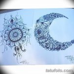 фото Мехенди луна от 17.04.2018 №065 - Mehendi the moon - tatufoto.com