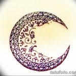 фото Мехенди луна от 17.04.2018 №080 - Mehendi the moon - tatufoto.com