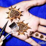 фото Мехенди на кисти от 09.04.2018 №098 - Mehendi on the Brush - tatufoto.com