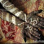 фото Мехенди на кисти от 09.04.2018 №110 - Mehendi on the Brush - tatufoto.com