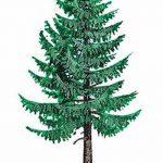 фото Эскизы тату ель от 23.04.2018 №004 - Sketches of a tattoo spruce - tatufoto.com