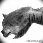 фото Эскизы тату ель от 23.04.2018 №066 - Sketches of a tattoo spruce - tatufoto.com