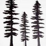 фото Эскизы тату ель от 23.04.2018 №099 - Sketches of a tattoo spruce - tatufoto.com