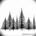 фото Эскизы тату ель от 23.04.2018 №115 - Sketches of a tattoo spruce - tatufoto.com