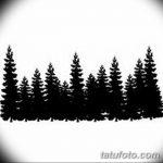 фото Эскизы тату ель от 23.04.2018 №117 - Sketches of a tattoo spruce - tatufoto.com
