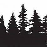 фото Эскизы тату ель от 23.04.2018 №148 - Sketches of a tattoo spruce - tatufoto.com