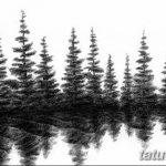 фото Эскизы тату ель от 23.04.2018 №154 - Sketches of a tattoo spruce - tatufoto.com 346345345