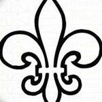 фото Эскизы тату королевская лилия от 24.04.2018 №006 - royal lily tattoo - tatufoto.com