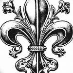 фото Эскизы тату королевская лилия от 24.04.2018 №008 - royal lily tattoo - tatufoto.com