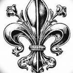 фото Эскизы тату королевская лилия от 24.04.2018 №013 - royal lily tattoo - tatufoto.com