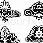 фото Эскизы тату королевская лилия от 24.04.2018 №018 - royal lily tattoo - tatufoto.com