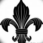 фото Эскизы тату королевская лилия от 24.04.2018 №020 - royal lily tattoo - tatufoto.com