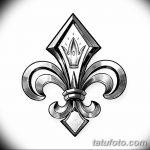 фото Эскизы тату королевская лилия от 24.04.2018 №026 - royal lily tattoo - tatufoto.com