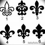 фото Эскизы тату королевская лилия от 24.04.2018 №028 - royal lily tattoo - tatufoto.com