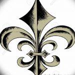 фото Эскизы тату королевская лилия от 24.04.2018 №031 - royal lily tattoo - tatufoto.com