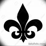 фото Эскизы тату королевская лилия от 24.04.2018 №033 - royal lily tattoo - tatufoto.com
