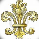 фото Эскизы тату королевская лилия от 24.04.2018 №034 - royal lily tattoo - tatufoto.com