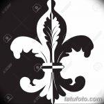 фото Эскизы тату королевская лилия от 24.04.2018 №035 - royal lily tattoo - tatufoto.com