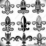 фото Эскизы тату королевская лилия от 24.04.2018 №036 - royal lily tattoo - tatufoto.com