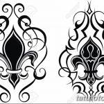 фото Эскизы тату королевская лилия от 24.04.2018 №039 - royal lily tattoo - tatufoto.com