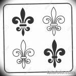 фото Эскизы тату королевская лилия от 24.04.2018 №039 - royal lily tattoo - tatufoto.com 335