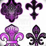 фото Эскизы тату королевская лилия от 24.04.2018 №058 - royal lily tattoo - tatufoto.com