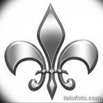 фото Эскизы тату королевская лилия от 24.04.2018 №063 - royal lily tattoo - tatufoto.com