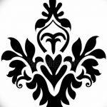 фото Эскизы тату королевская лилия от 24.04.2018 №068 - royal lily tattoo - tatufoto.com