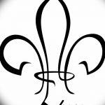 фото Эскизы тату королевская лилия от 24.04.2018 №072 - royal lily tattoo - tatufoto.com