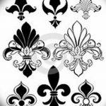 фото Эскизы тату королевская лилия от 24.04.2018 №073 - royal lily tattoo - tatufoto.com