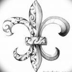 фото Эскизы тату королевская лилия от 24.04.2018 №080 - royal lily tattoo - tatufoto.com