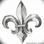 фото Эскизы тату королевская лилия от 24.04.2018 №081 - royal lily tattoo - tatufoto.com