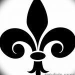 фото Эскизы тату королевская лилия от 24.04.2018 №088 - royal lily tattoo - tatufoto.com