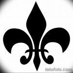 фото Эскизы тату королевская лилия от 24.04.2018 №089 - royal lily tattoo - tatufoto.com