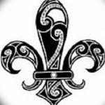 фото Эскизы тату королевская лилия от 24.04.2018 №094 - royal lily tattoo - tatufoto.com