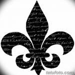 фото Эскизы тату королевская лилия от 24.04.2018 №095 - royal lily tattoo - tatufoto.com