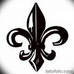 фото Эскизы тату королевская лилия от 24.04.2018 №096 - royal lily tattoo - tatufoto.com