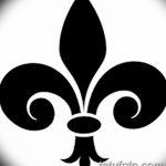 фото Эскизы тату королевская лилия от 24.04.2018 №099 - royal lily tattoo - tatufoto.com