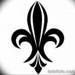 фото Эскизы тату королевская лилия от 24.04.2018 №100 - royal lily tattoo - tatufoto.com