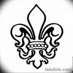 фото Эскизы тату королевская лилия от 24.04.2018 №105 - royal lily tattoo - tatufoto.com