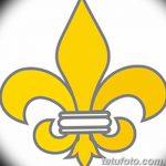 фото Эскизы тату королевская лилия от 24.04.2018 №109 - royal lily tattoo - tatufoto.com