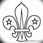фото Эскизы тату королевская лилия от 24.04.2018 №113 - royal lily tattoo - tatufoto.com