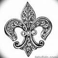 фото Эскизы тату королевская лилия от 24.04.2018 №114 - royal lily tattoo - tatufoto.com