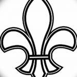 фото Эскизы тату королевская лилия от 24.04.2018 №115 - royal lily tattoo - tatufoto.com